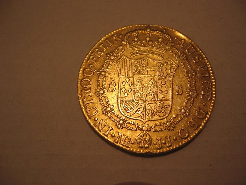 8 escudos 1806. Carlos IV. Nuevo Reino JJ. Ayuda valoración 102_0211