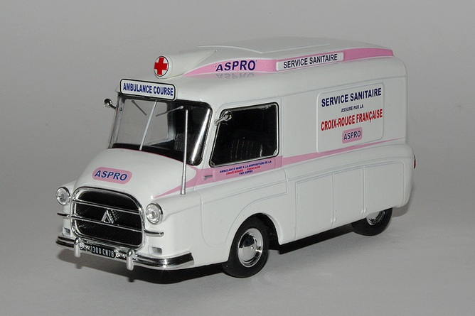"""Citroën miniatures > """"Ambulances, transports de blessés et assistance d'urgence aux victimes"""" 3_type12"""