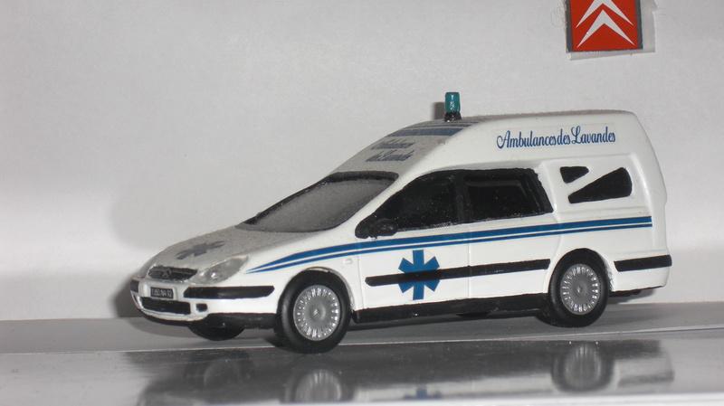 """Citroën miniatures > """"Ambulances, transports de blessés et assistance d'urgence aux victimes"""" C_5_am11"""