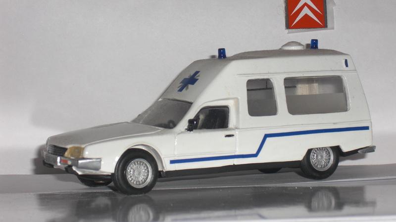"""Citroën miniatures > """"Ambulances, transports de blessés et assistance d'urgence aux victimes"""" Cx_amb13"""