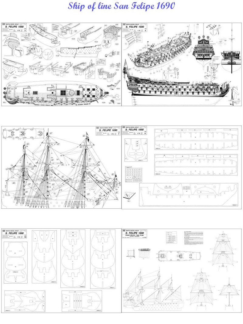 LE SAN FELIPE vaisseau du XVIIe siècle ( made in china) - Page 4 I_san_10