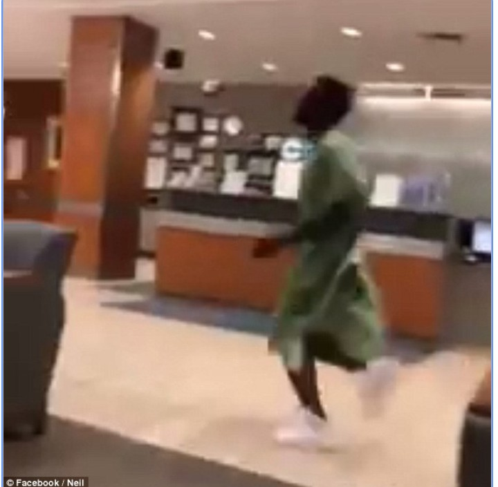 Man Jumps Out Of Hospital Bed, Chases Girlfriend For Taking His Phone In US (Video/Photos) 68782510