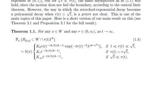 Задача для диплома Берлин, 3 недели. Brownian Motion in a Truncated Weyl Chamber (случайные блуждания в усеченной камере Вейля). 2-210