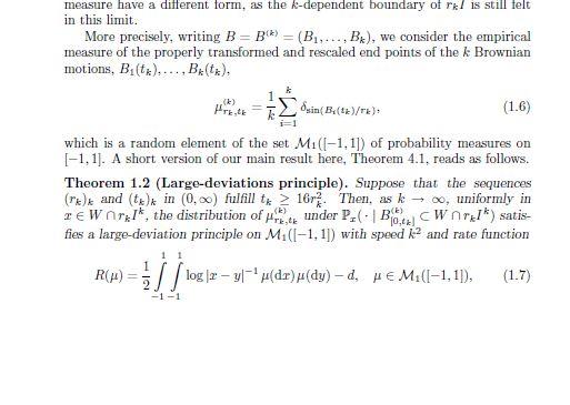 Задача для диплома Берлин, 3 недели. Brownian Motion in a Truncated Weyl Chamber (случайные блуждания в усеченной камере Вейля). 3-210