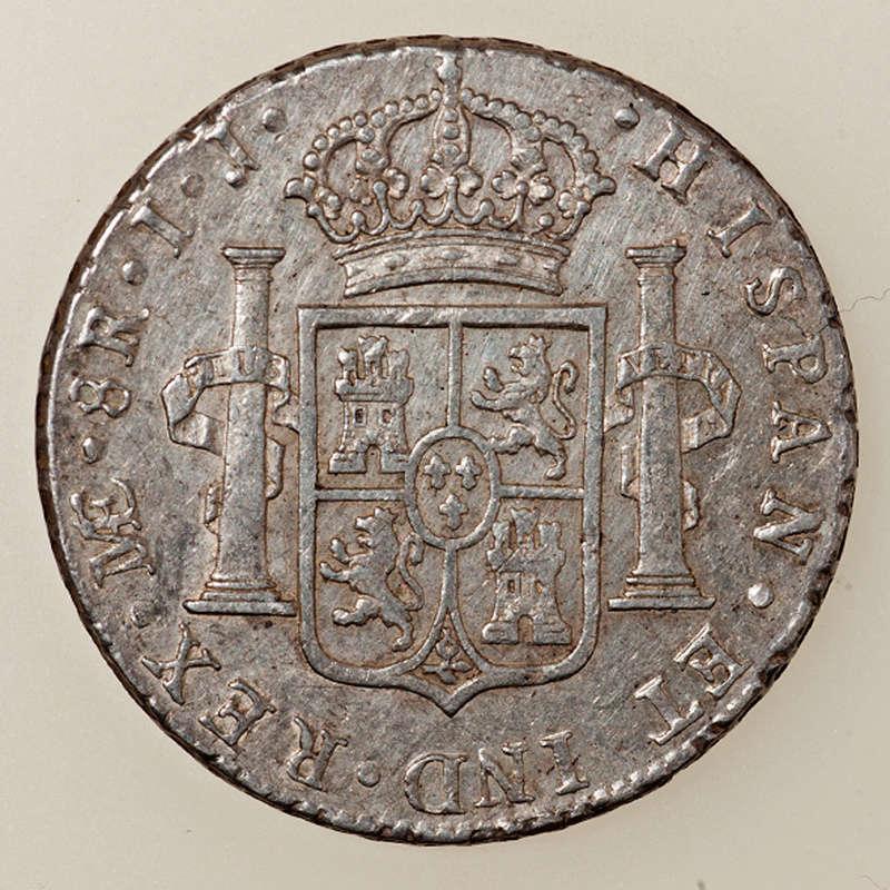 8 reales 1797. Carlos IV. Lima _pas4318