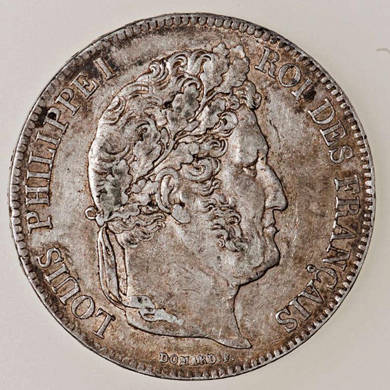 5 francos Louis Philippe I 1840 Rouen _pas4415
