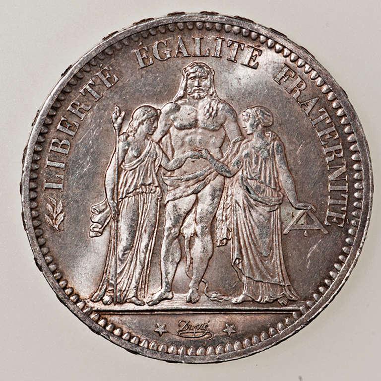 5 francos IIIème République 1873 A (Paris) _pas4422