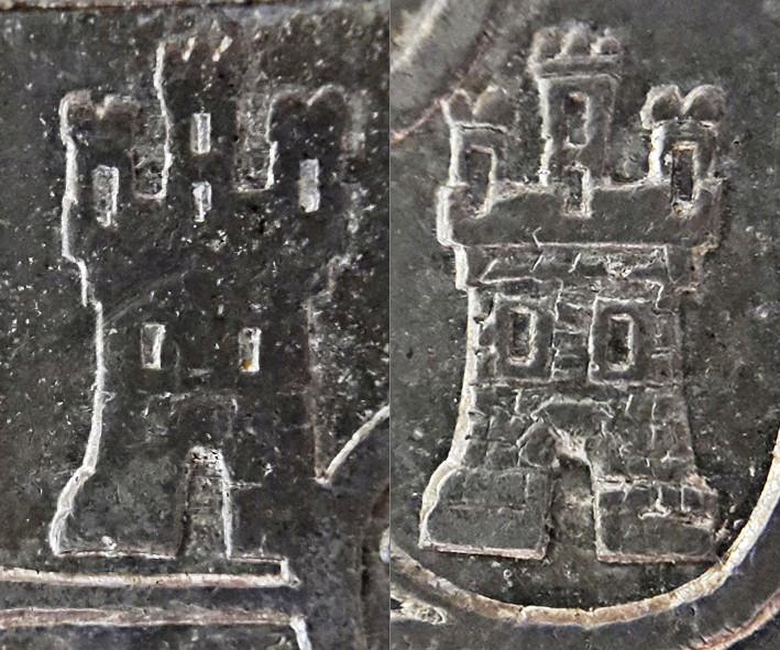 8 reales 1822. Fernando VII. Zacatecas - Página 2 Castil11