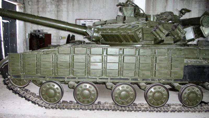 Т-64БВ - «окультуренный» «СКИФ»  SKIF 1:35 №205 01810