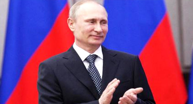 BREAKING NEWS: Vladimir Putin Elected Fourth Term As Russia President 68481210