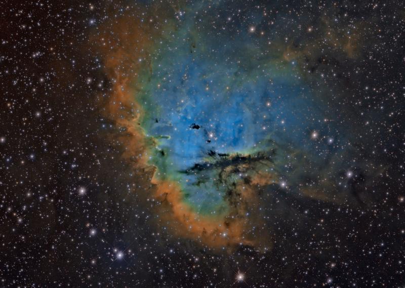 NGC281 SHO   Ngc28110