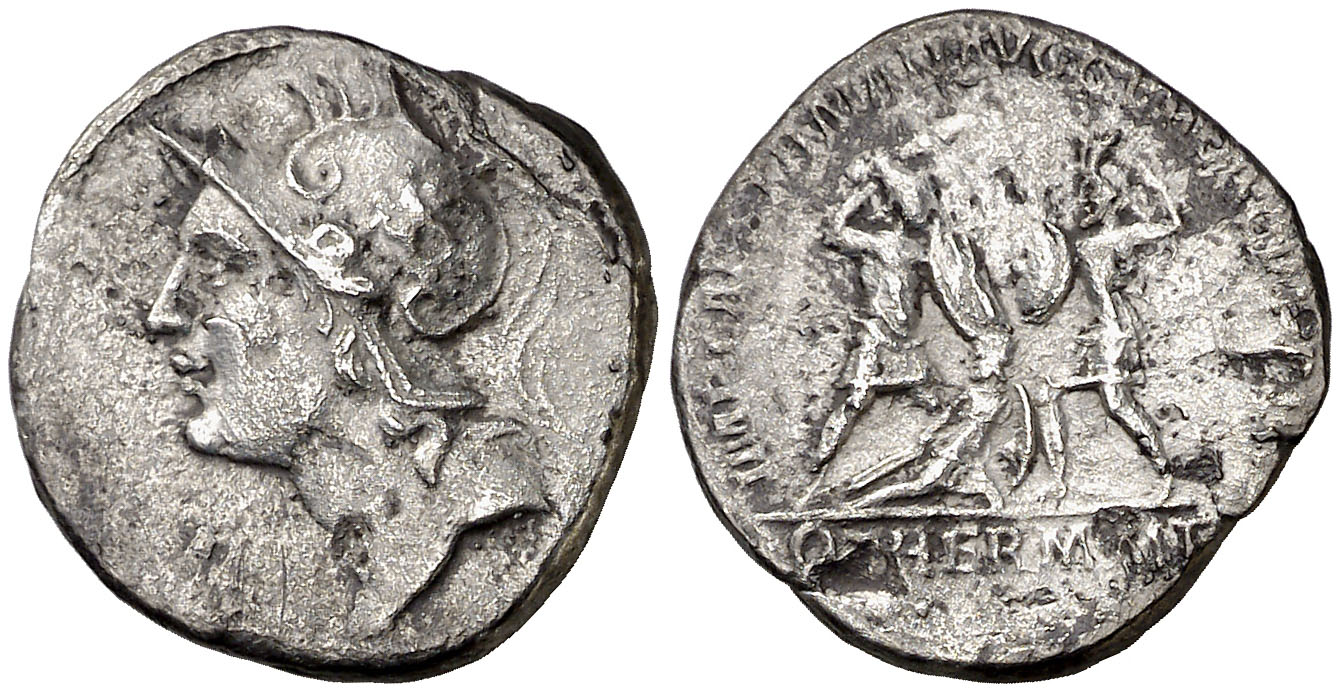 Denario de restitución de Trajano en Aureo & Calicó. 106310