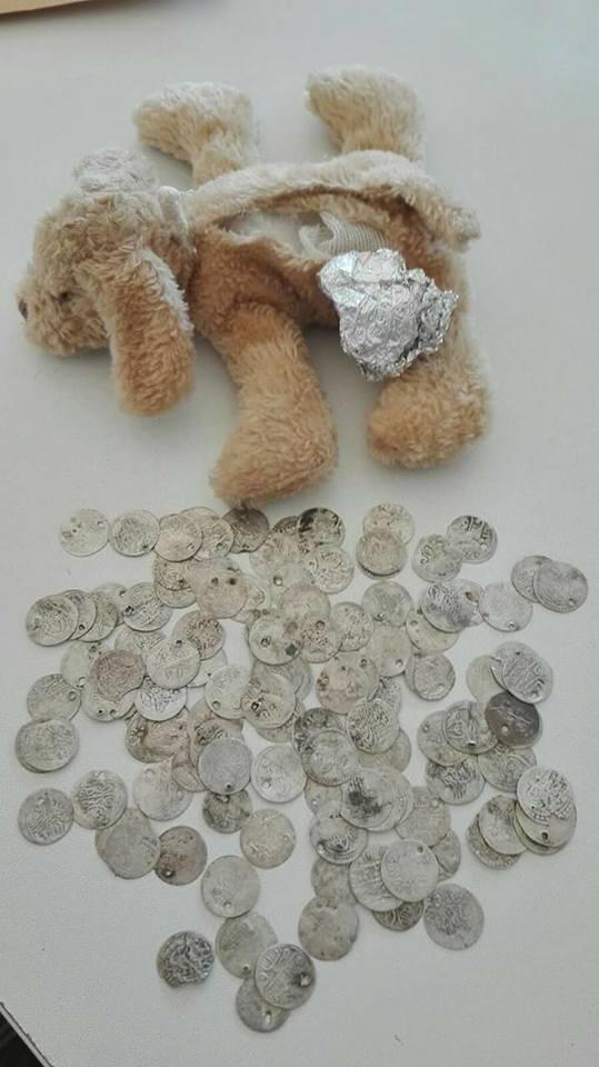Recibe las monedas en el interior de un peluche 30740410