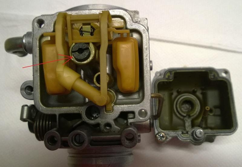 Resoconto di una pulizia carburatore Ossido10
