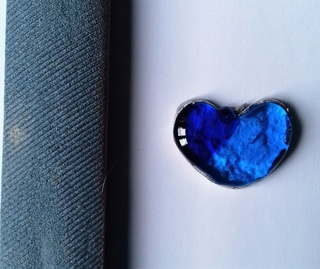 coeur en verre bleu murano bicolore fusing micro onde 20180317