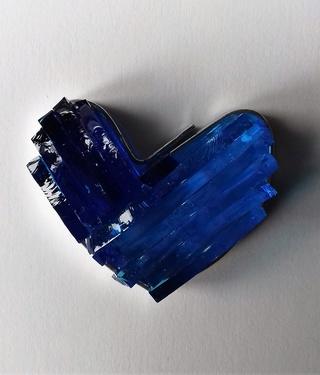 coeur en verre bleu murano bicolore fusing micro onde 20180318