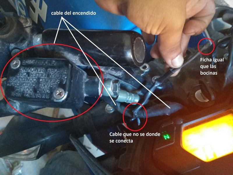 Freno delantero cable Rouser10