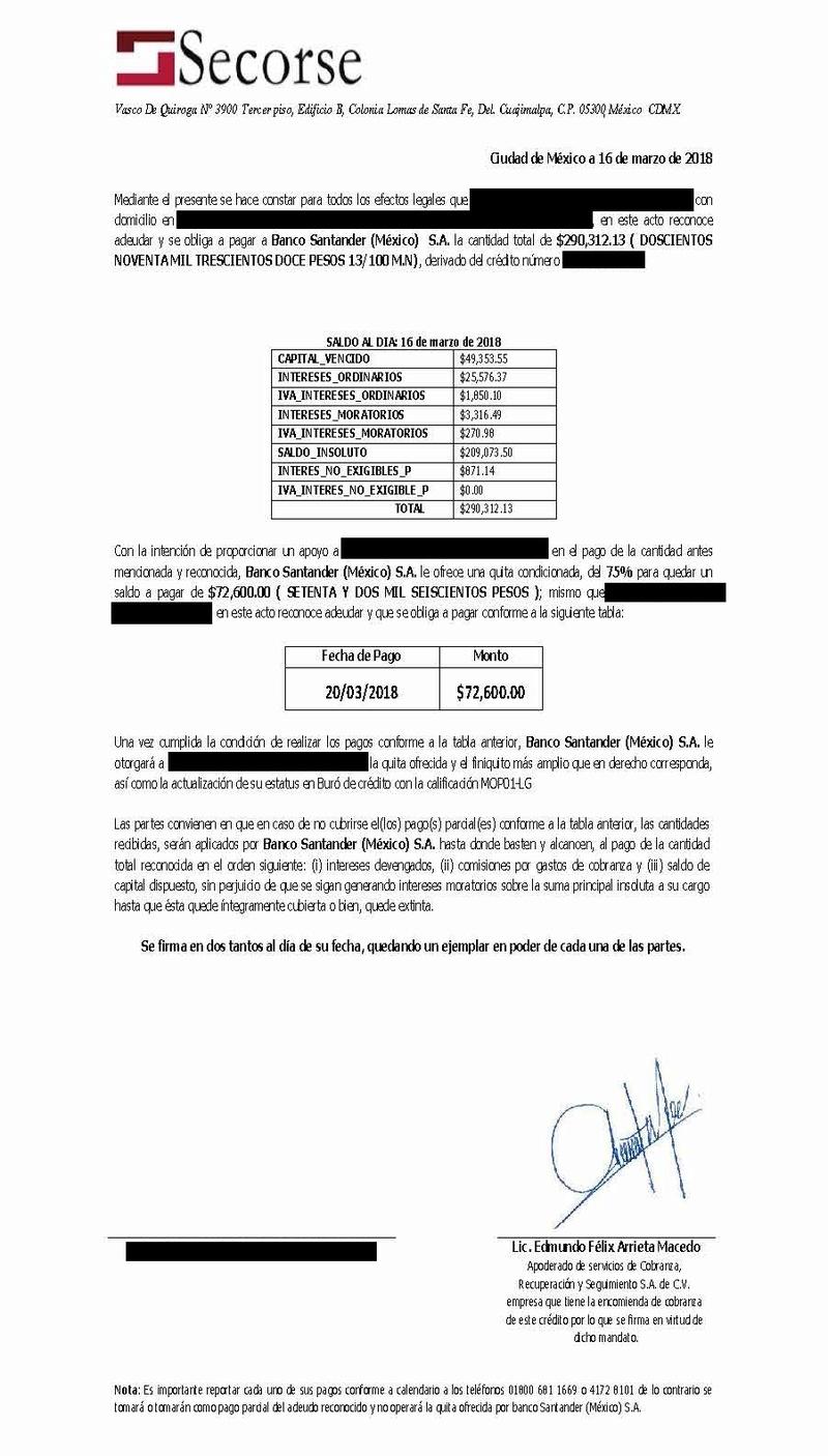 Carta Convenio SECORSE 33000510
