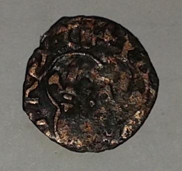 Denier tournois de Luis XI (1461-1483). Franci10