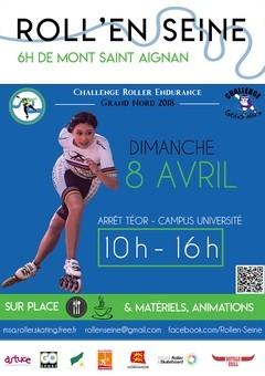 6h roller Mont Saint Aignan 2018 Roll-e12