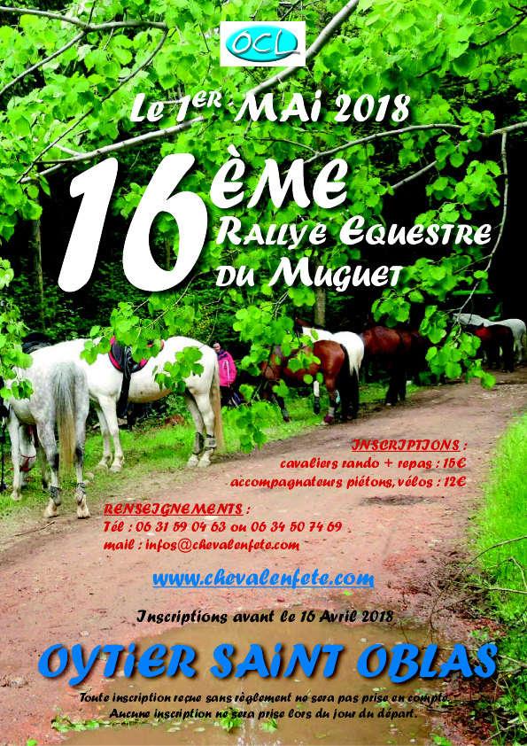 rallye du équestre du Muguet à Oytier St Oblas Rallye10
