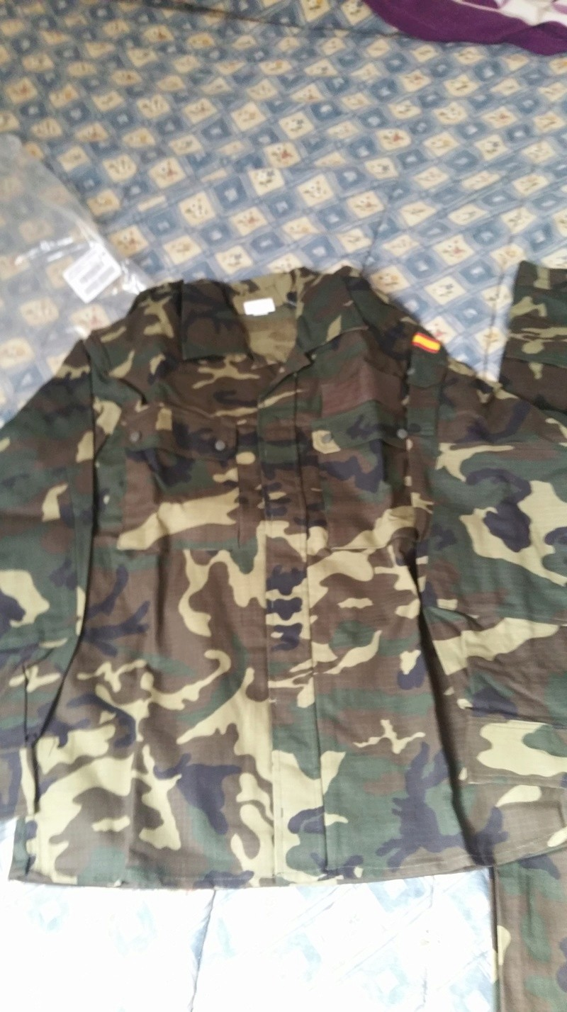 ( VENDO ) Uniforme woodland E. T.  20180310
