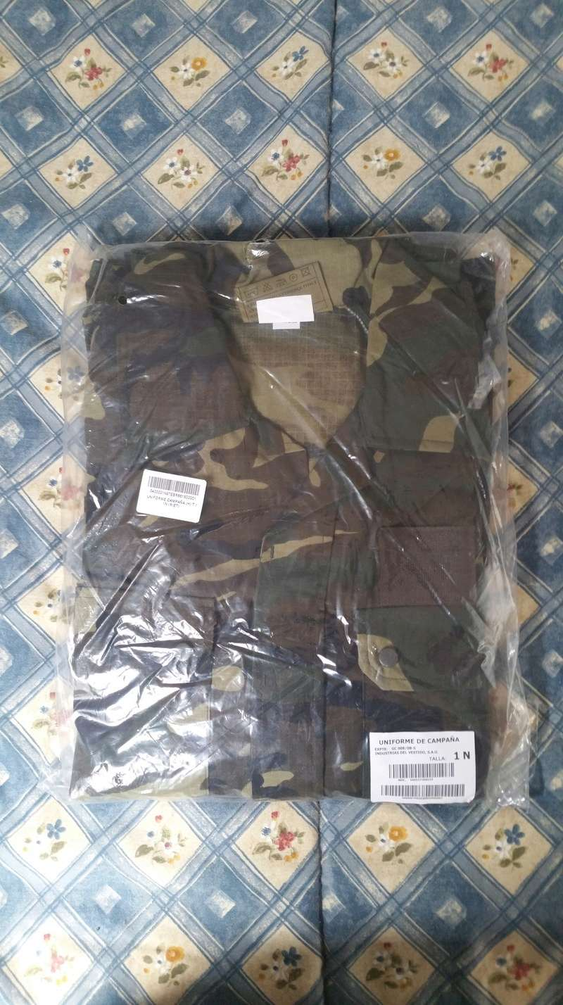 ( VENDO ) Uniforme woodland E. T.  20180311