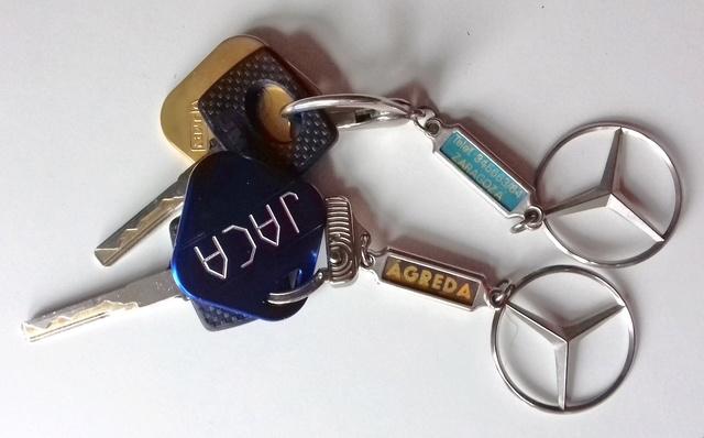 Primer problema al comprar el SLK: sólo había una llave. 20180324