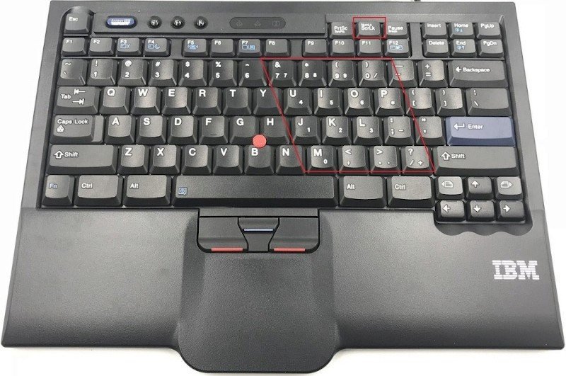 Integrated Numerical Keypad Ibmthi10