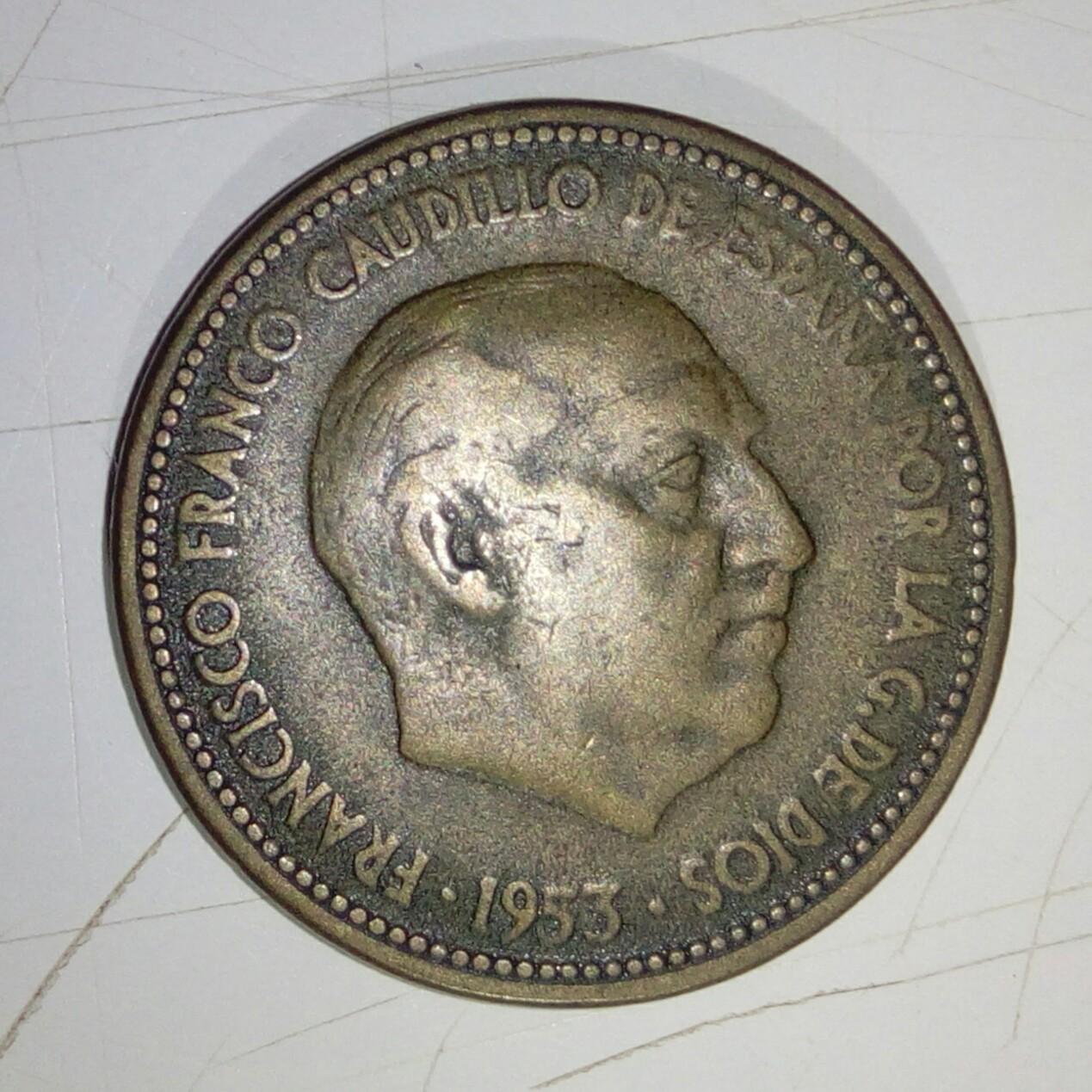 2'50 Pesetas 1953 (*19-54). Estado Español Img_2028