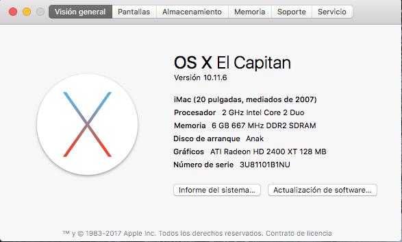 "iMac 20"" vitaminado 300€ Captur11"