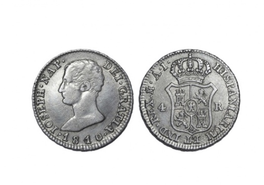 4 Reales 1810. Jose I. Madrid Img_2110