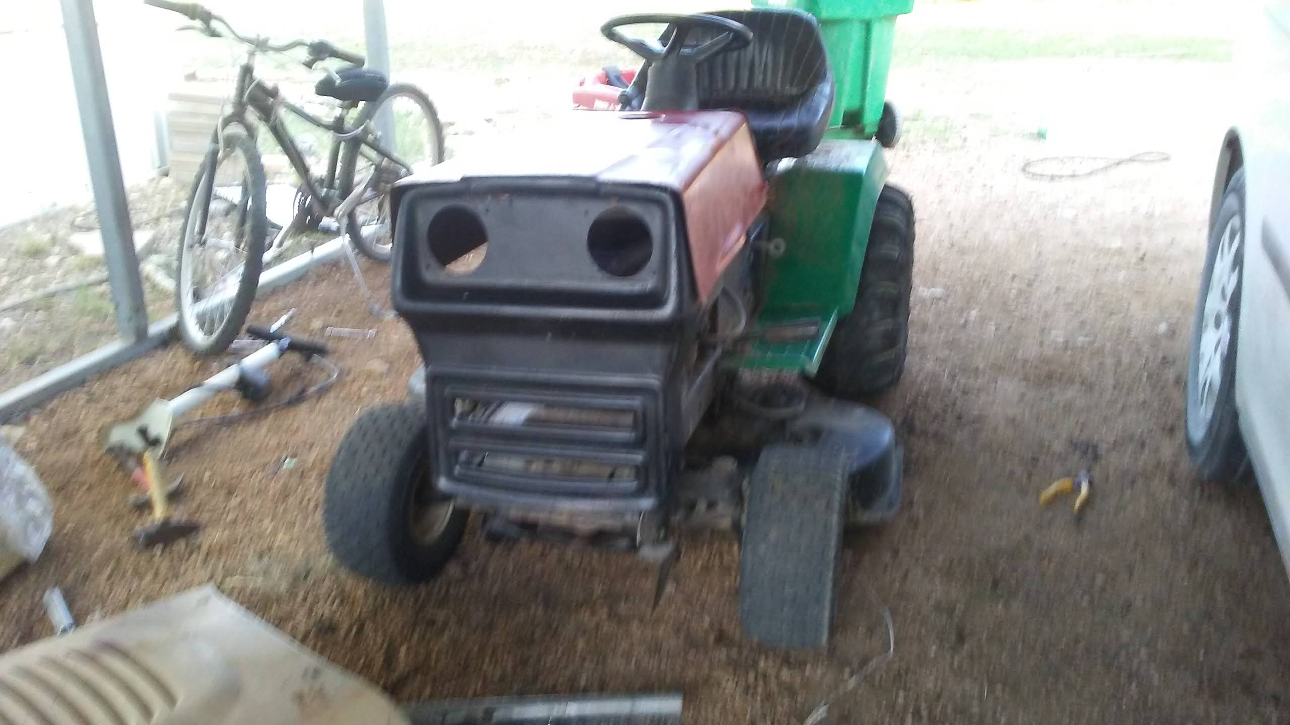 """1999 WeedEater Mowing Mower Build """"Sodzilla"""" - Page 2 Hood110"""