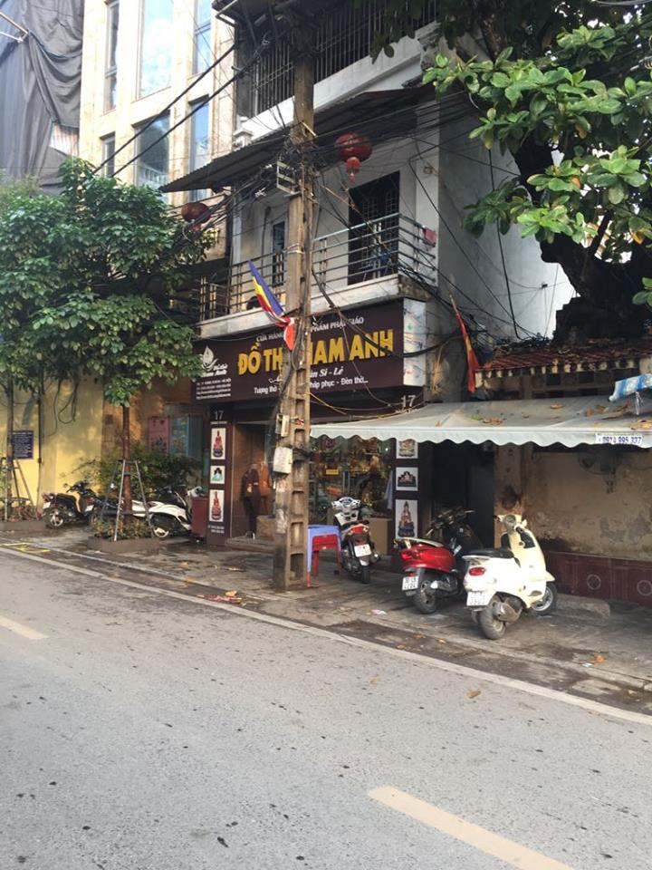 Cho thuê cửa hàng tầng 1, mặt đường, số 17 Hàng Khoai, Hà Nội 610