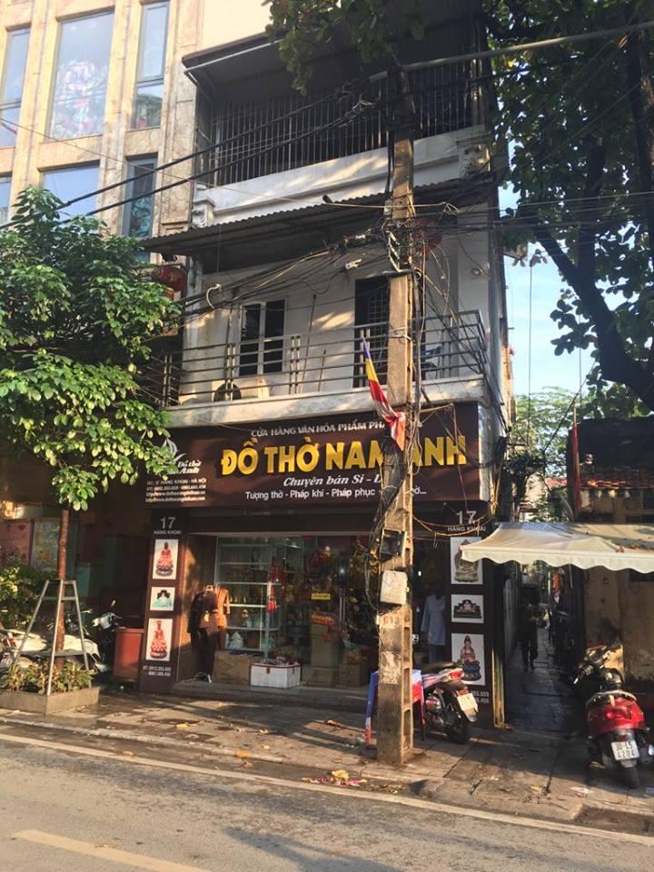 Cho thuê cửa hàng tầng 1, mặt đường, số 17 Hàng Khoai, Hà Nội 810