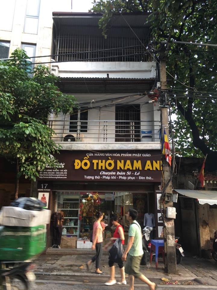 Cho thuê cửa hàng tầng 1, mặt đường, số 17 Hàng Khoai, Hà Nội 910