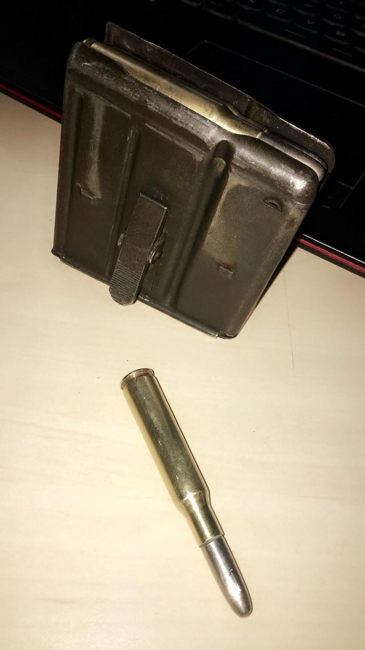 Identification d'un chargeur REM UMC 7m/m 410