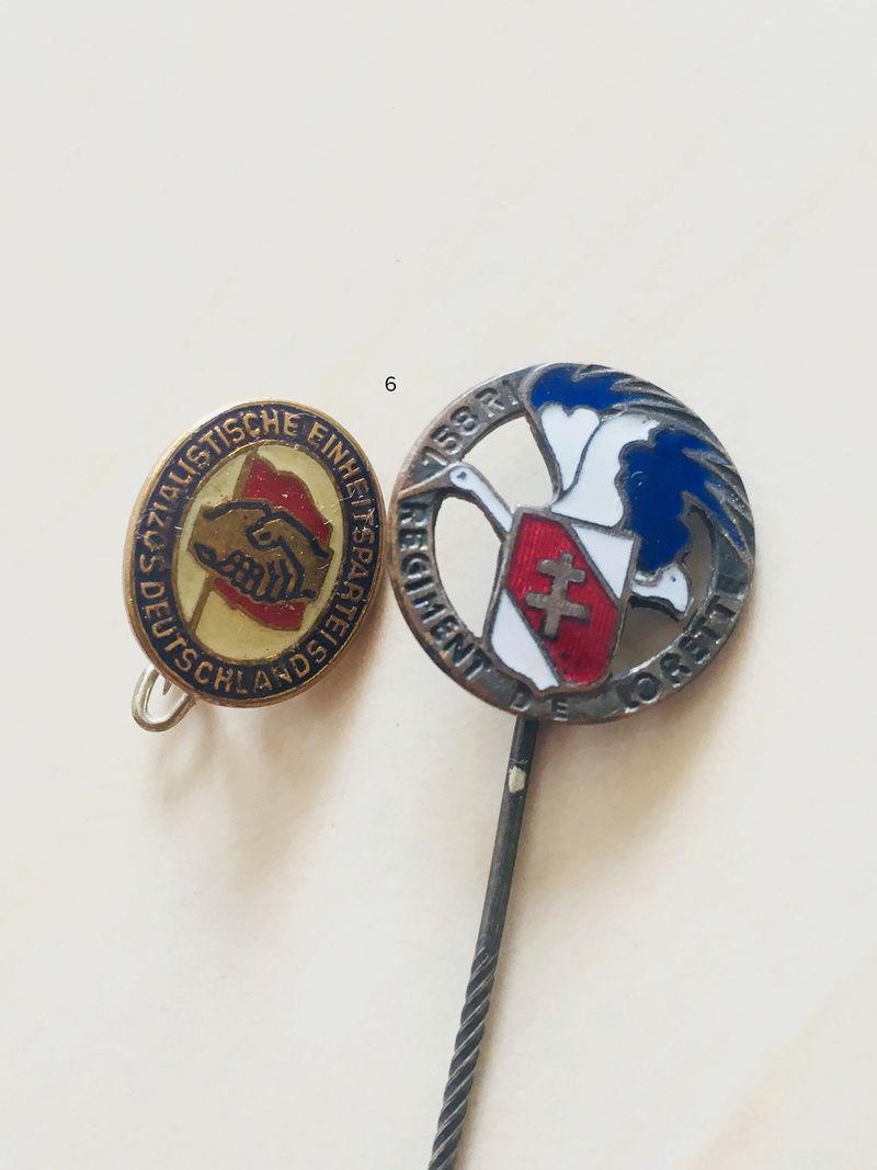 Estimation approximative lot médaille, insigne, décorations, pin's 510
