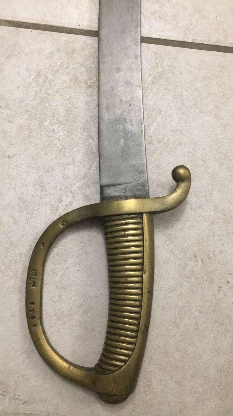 Quel genre de sabre s'agit il ? B0f9c510