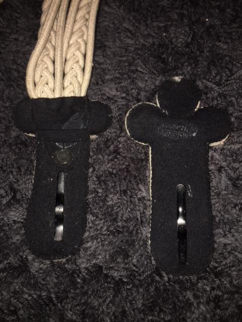 Identification épaulette trèfle Image211
