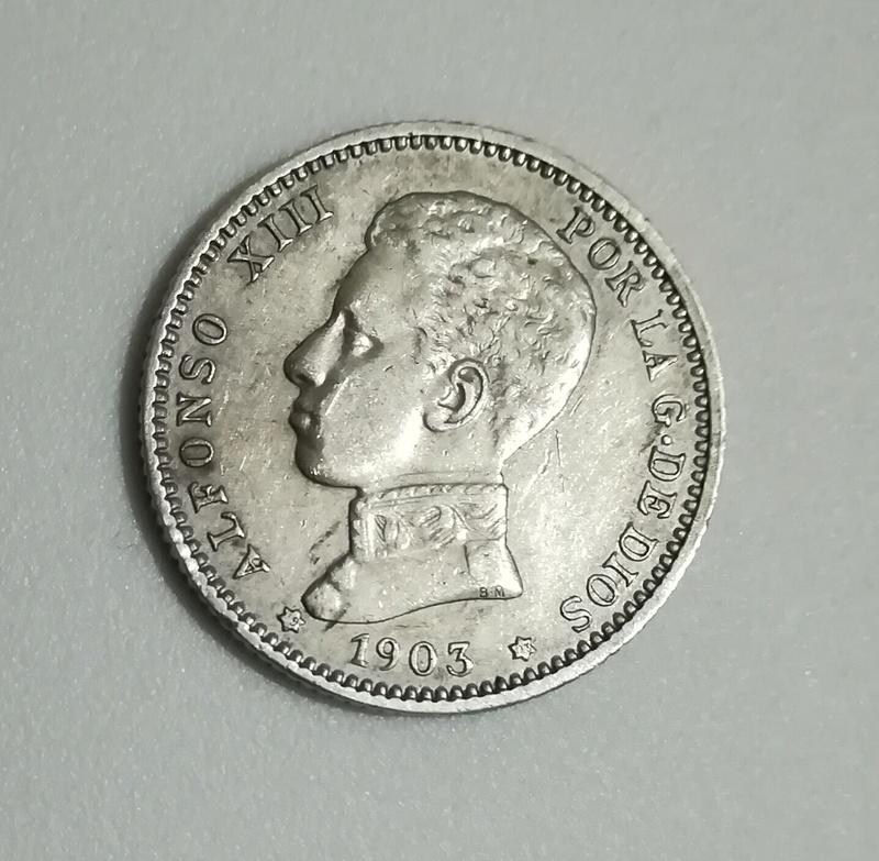 1 peseta 1903. Alfonso XIII Img_2016