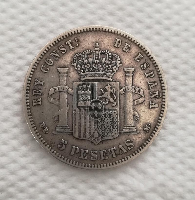 5 Pesetas 1878. Alfonso XII. DEM Img_2018