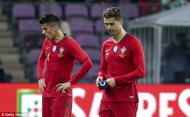 Cristiano Ronaldo fails to register a shot for the first time 4a96f410