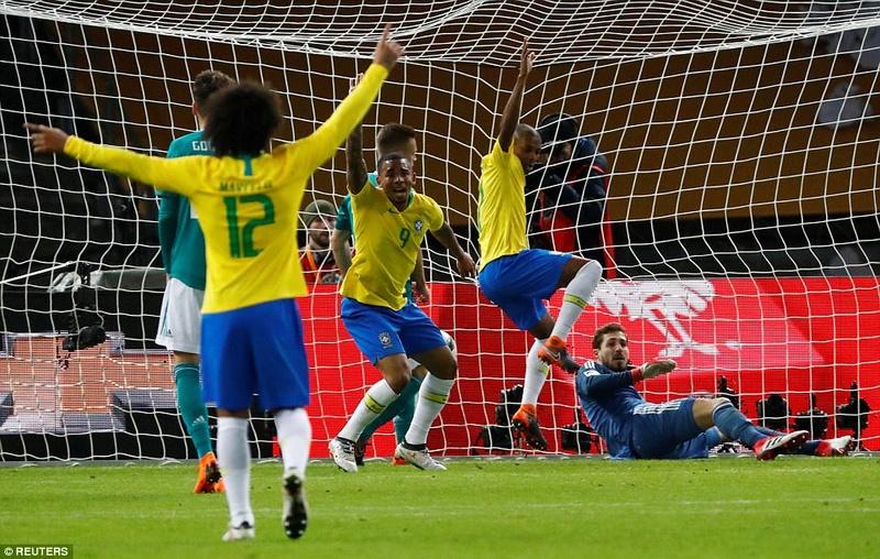 Germany 0-1 Brazil: Gabriel Jesus scores only goal 4a9c0010