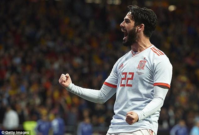 Spain 6-1 Argentina: Isco hat-trick  4a9deb10