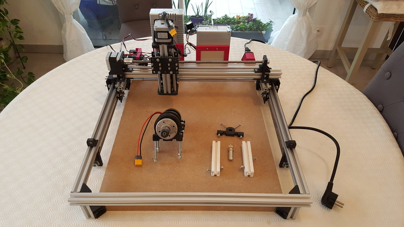 Construction d'une petite CNC open maker machine Cnc0110