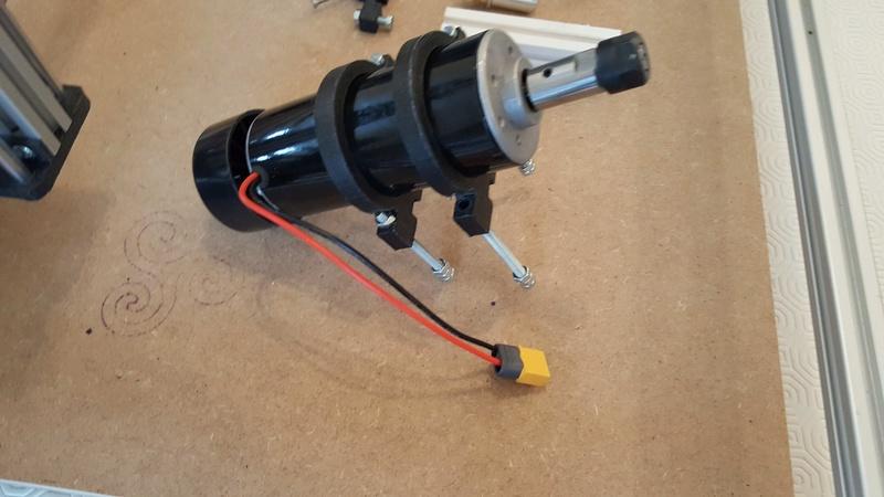 Construction d'une petite CNC open maker machine Cnc0310