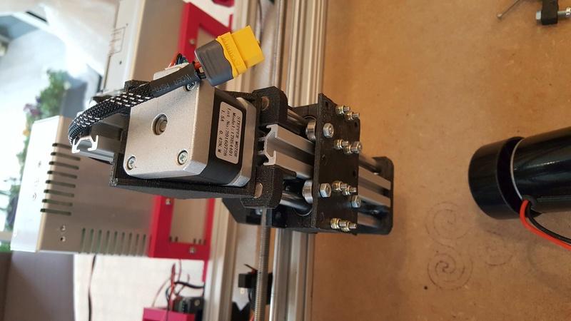 Construction d'une petite CNC open maker machine Cnc0410