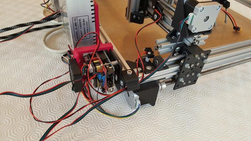 Construction d'une petite CNC open maker machine Cnc0810