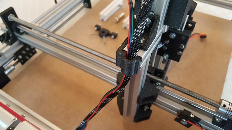 Construction d'une petite CNC open maker machine Cnc0910